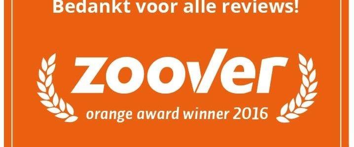 De Wilde Roos wint Zoover Orange Award
