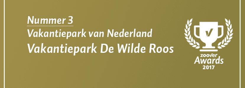 De Wilde Roos derdein top 10 beste vakantieparken in Nederland!